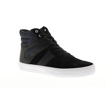 fc1a7691430 Creative Recreation Moretti Mens Black Suede High Top Sneakers Shoes