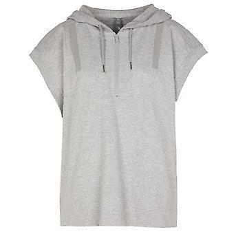 Adidas By Stella Mccartney Grey Cotton Sweatshirt
