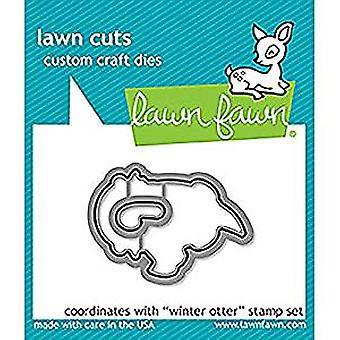 Lawn Fawn Winter Otter Dies (LF1475)