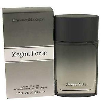 Zegna Forte By Ermenegildo Zegna Eau De Toilette Spray 1.7 Oz (men) V728-535643