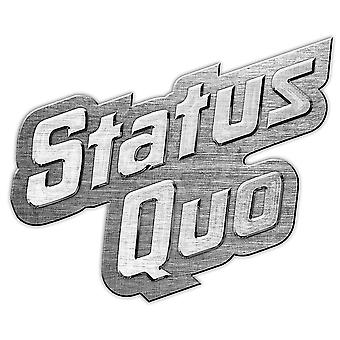 Status Quo Logo metal / enamel mini pin badge 45mm x 25mm (rz)