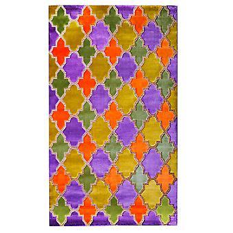 Pierre Cardin design matta i akryl Orange/Gul