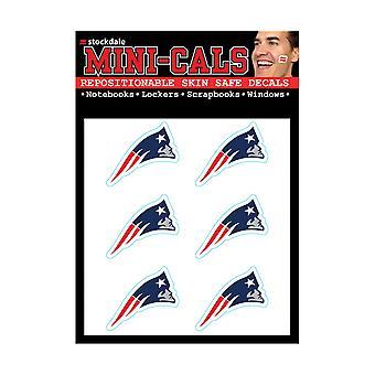 Wincraft 6er Gesicht Aufkleber 3cm - New England Patriots