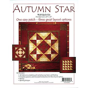 Autumn Star Wall Quilt Kit 22