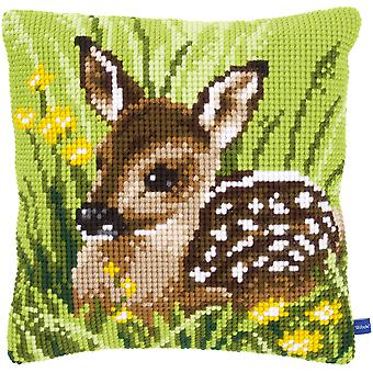 Little Deer Cushion Cross Stitch Kit-15.75
