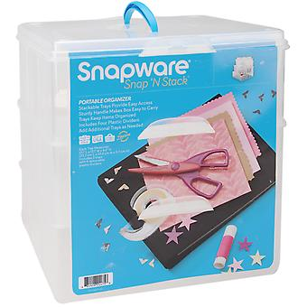 Snap 'N Stack Craft Organizer Large Square 3 Layers Sns6039