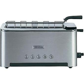 Long slot toaster bagel function, with manual temperature settings Kenwood Home Appliance Kenwood Stainless steel