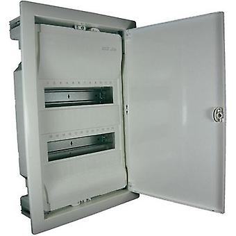Switchboard cabinet Flush mount No. of partitions = 24 No. of rows = 2 Hager VU24NC