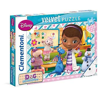 Clementoni 60 Pieces Puzzle Toys Soft Touch Doctor (Toys , Boardgames , Puzzles)