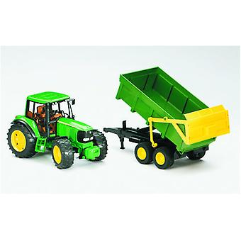 Bruder John Deere Tractor C / TRAILER (Toys , Vehicles And Tracks , Mini Vehicles , Cars)