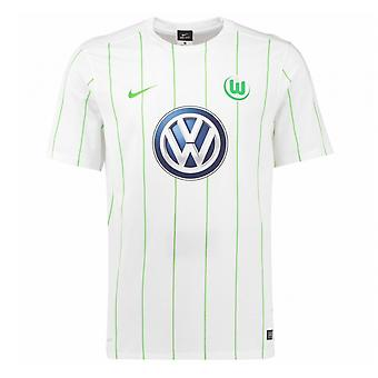 2016-2017 VFL Wolfsburg Away Nike Shirt (Kinder)