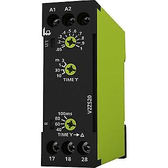 tele 125300 Time Delay Relay, Timer, Casing: IP40 / connection: IP20