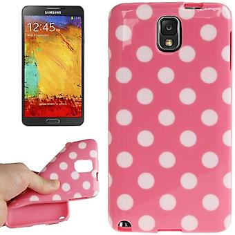 Protective case for mobile Samsung Galaxy touch 3 N9000 pink