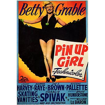 Pin-Up Girl Movie Poster (11 x 17)