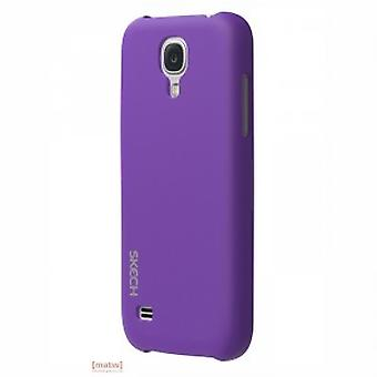 Skech slim snap on cover Samsung Galaxy S4-mini i9195 purple