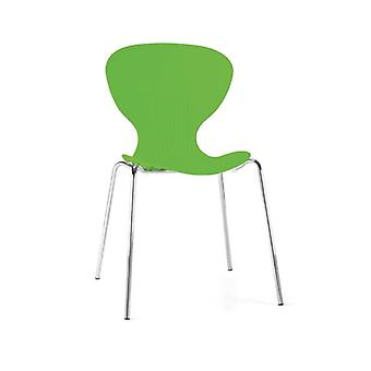 Ziponi Stacking Plastic Side Kitchen Dining Chairs Price Is For 4