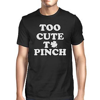 Alt for søde til at knibe mænds sort T-shirt sjove irske Tee For irske mænd