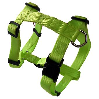 Freedog Harness Nylon Neon Green Fluor (Dogs , Collars, Leads and Harnesses , Harnesses)
