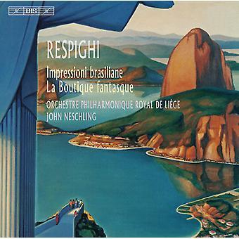Respighi – brazylijski wrażenia [SACD] USA import
