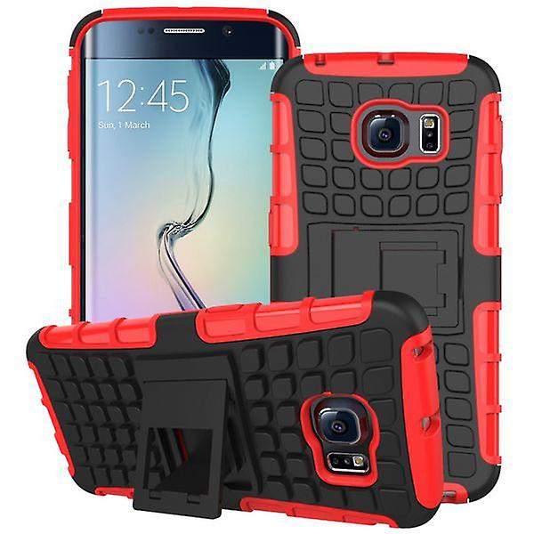Hybrid case 2 piece SWL robot red for Samsung Galaxy S6 edge G925 G925F