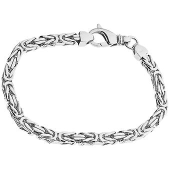 Sterling 925 sølv King armbånd - DOTTE 6x6mm