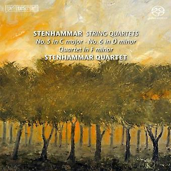 W. Stenhammar - Stenhammar: String Quartets No. 5 in C Major, No. 6 in D Minor; Quartet in F Minor [SACD] USA import