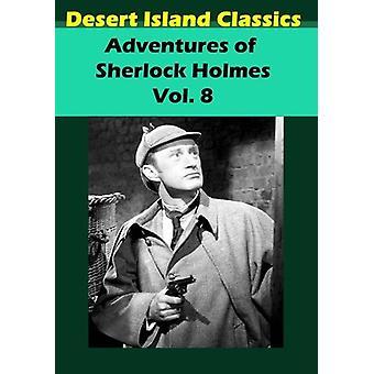 Aventuras de importación de Estados Unidos 8 de Sherlock Holmes [DVD]