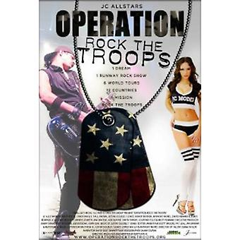 Operation Rock the Troops [DVD] USA import