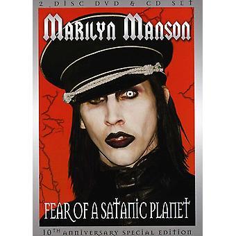 Marilyn Manson - frygt for en SATANISK Planet (specialudgave) [DVD] USA importerer