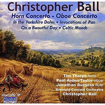C. Ball - Christopher Ball: Horn Concerto; Oboe Concerto [CD] USA import