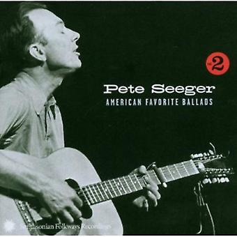 Pete Seeger - Pete Seeger: Vol. 2-American Favorite Ballads [CD] USA import