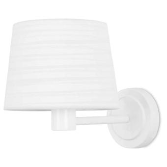 Leds C4 Aplique Michigan 1xE27 Máximo 60W Blanco Brillante