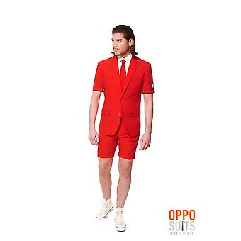 Red Devil red suit Summersuit Opposuit Premium 3-piece set