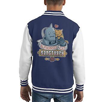 Alicesanco kat Sanctuary Full Metal Alchemist Kid's Varsity jakke