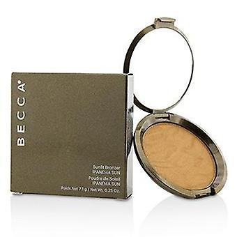 Becca Sunlit Bronzer - # Ipanema Sun - 7.1g/0.25oz