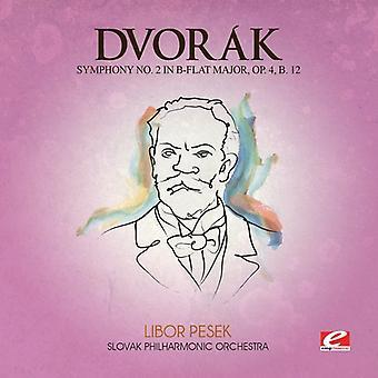 Dvorak - Symphony 2 B-dur Maj 4 B 12 [CD] USA import