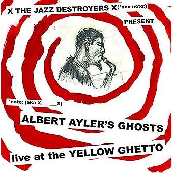 X___X - Albert Ayler spøgelser Live på gule Ghetto [CD] USA importen