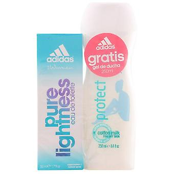 Adidas Woman Pure Pack V Cologne 50 ml + Gel 250 ml (Woman , Perfume , Women´s Perfumes)
