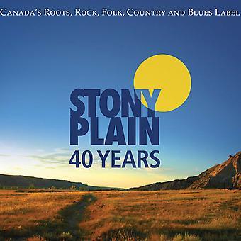 40 år af Stony Plain Records - 40 år af Stony Plain Records [CD] USA import