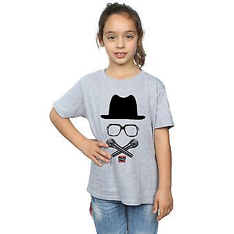 Run DMC piger krydsede mikrofoner T-Shirt