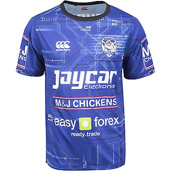 2015 Bulldogs Rugby Training Tee (Blue)
