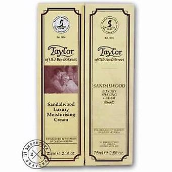 Taylors Sandalwood Moisturising and Shaving Cream Gift Set