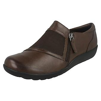 Ladies Clarks Flat Shoes Medora Gale