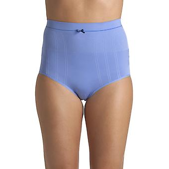 Camille Blue Seam Free High Waist Shapewear Control Briefs