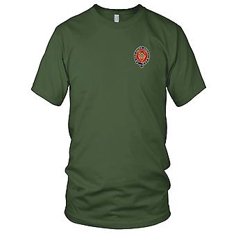 US Army - 245th Field Artillery Regiment Embroidered Patch - Ladies T Shirt