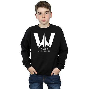 DC Comics pojkar Justice League filmen Wayne Aerospace Sweatshirt