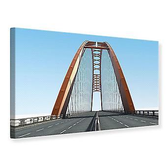 Lærred Udskriv bro Panorama