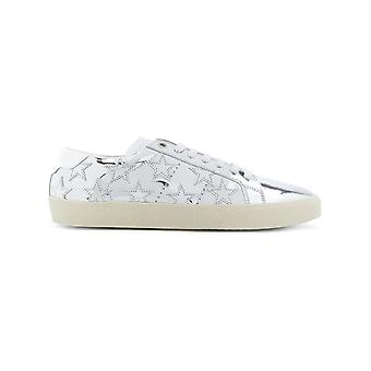 Saint Laurent Damen 485251AAL008105 Silber Leder Sneakers