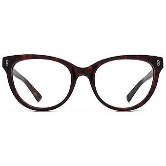 Hook LDN Wander Chunky Cateye Glasses In Black On Clear