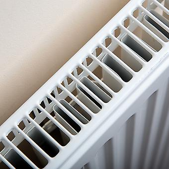 Compact Convector Radiator - Single Panel - Type 11 - White - H300 x W700mm